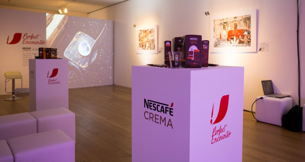 <h5>Solution</h5> - To promote the launch of a new product, Nescafe Crema Latte, the brand's first art campaign was planned with the theme of 'Art collaboration'<br /> - Offline events were designed and carried out for successful delivery of the campaign concept<br /> - The campaign launch was promoted through all-out marketing activities on- and offline<br /> - A synergy effect was generated by carrying out both digital and media PR programs for enhancement of brand recognition before and after the campaign